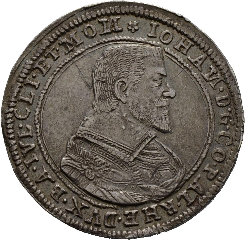 Taler 1624, Johann II. 1604-1635, Pfalz, Zweibrücken
