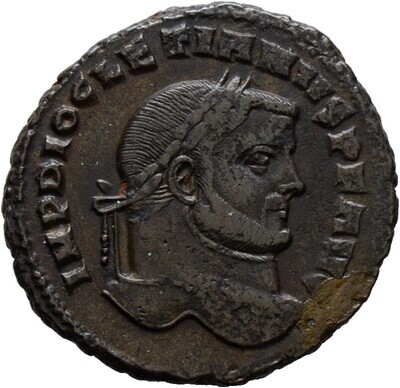 Folles -Karthago-, Diocletianus 284-305, Kaiserzeit