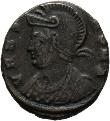 Folles ca. 320/330 -Kyzikos-, Urbs Roma, Kaiserzeit