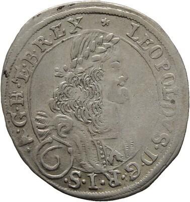6 Kreuzer 1673, Haus Habsburg