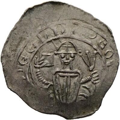 Pfennig -Friesach-, Eberhard II. von Regensberg 1200-1246, Salzburg, Erzbistum