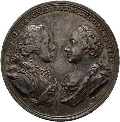 Silbermedaille 1765, Maria Theresia 1740-1780, Haus Habsburg