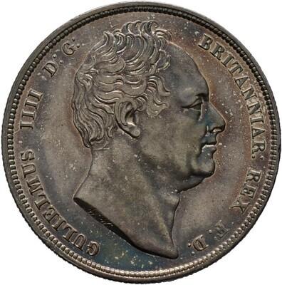 1/2 Crown 1836 -London-, William IV. 1830-1837, Großbritannien