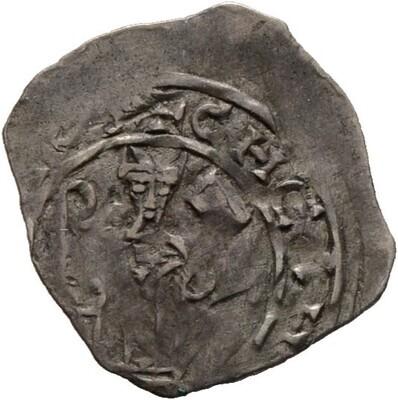 Pfennig -Friesach-, Eberhard II. von Regensburg 1200-1246, Salzburg, Erzbistum