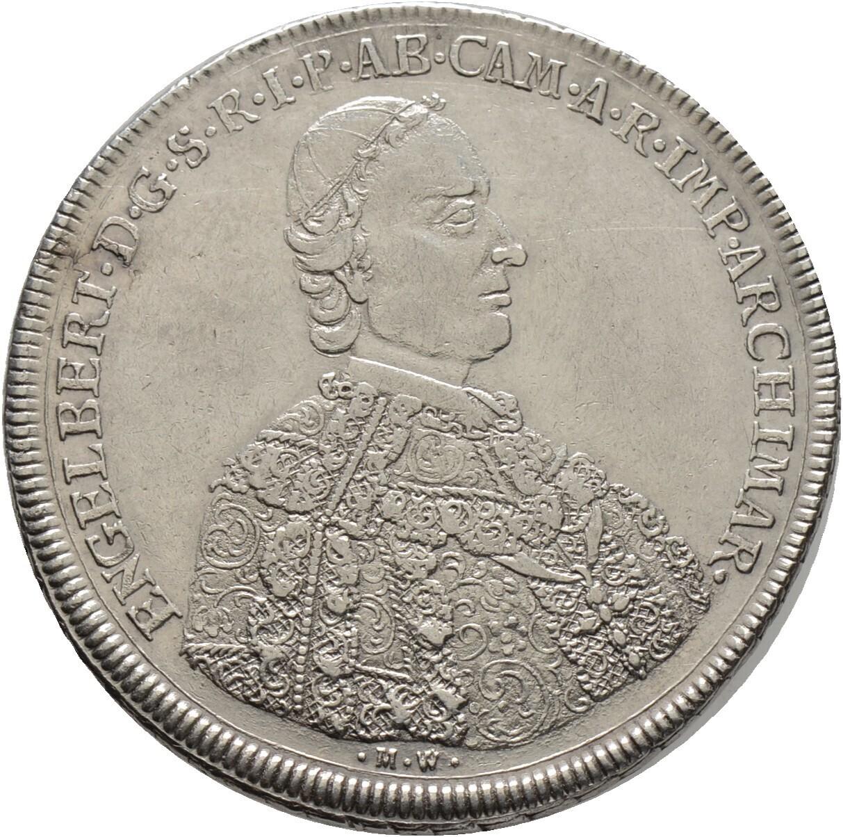 Taler 1748, Engelbert von Sirgenstein 1747-1760, Kempten-Stift