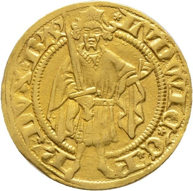 Goldgulden o.J. (1426), Ludwig III. 1410-1436, Pfalz-Kurlinie