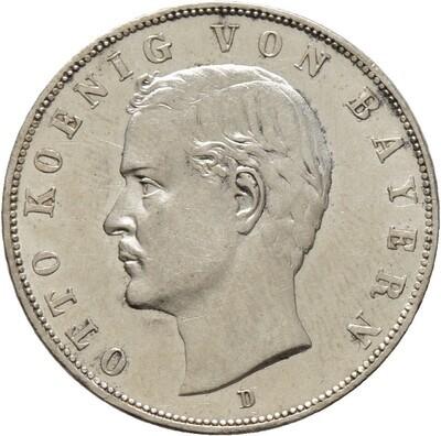 3 Mark 1913 D, Otto 1888-1913, Bayern