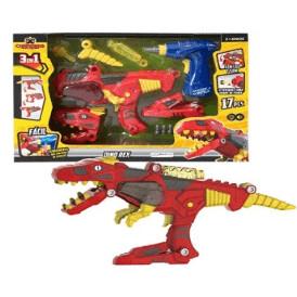 X Changers Junior Dino Rex Br891 - Multikids