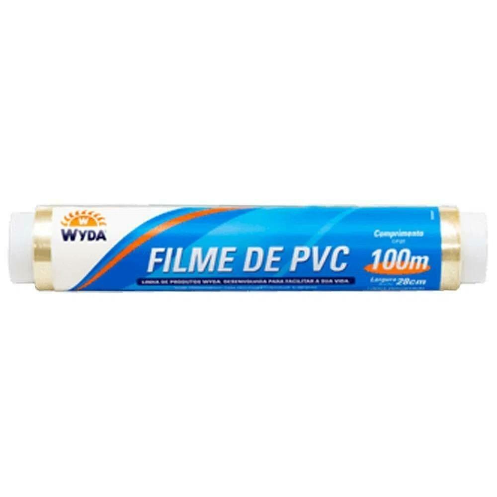 Filme Pvc Wyda 28Cmx100m - Refil