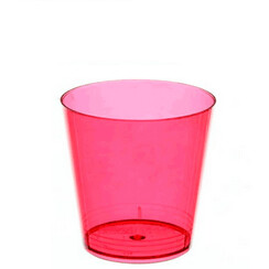 Copo Mini 25Ml Vermelho Neon C/10 Amalu