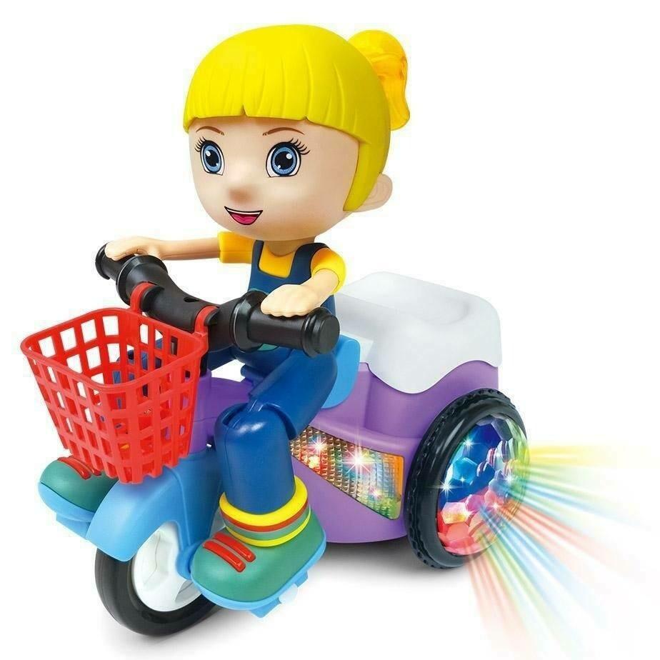 Carro Bate E Volta Paty Dmt5972 - Dm Toys