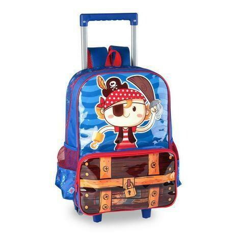 Mochila C/Carrinho Pt3068k - Art Bag