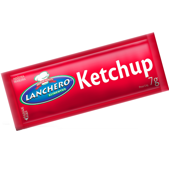 Ketchup Sache Lanchero C/180 X 7G 1.260Kg