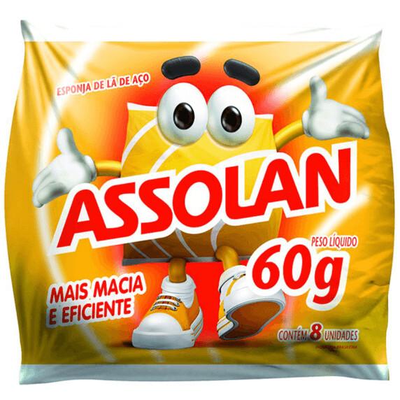 Esponja De Aco Assolam C/14
