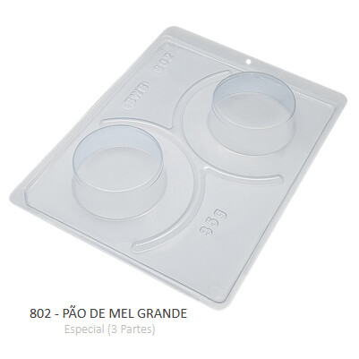 Forma Especial Pao De Mel Grande 802 - Bwb