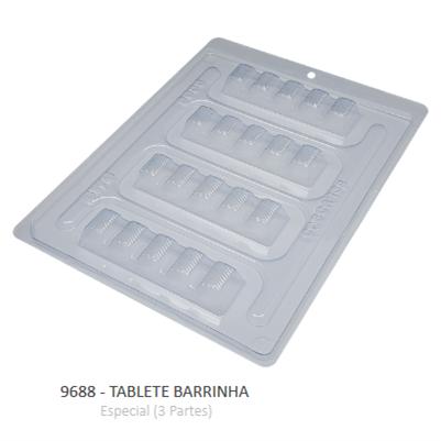 Forma Especial Tablete Barrinha 9688 - Bwb