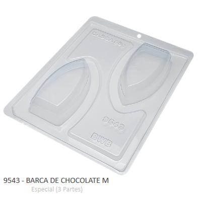 Forma Especial Barca De Chocolate M 9543 - Bwb