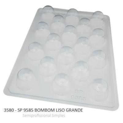 Forma Simples Sp 9585 Bombom Liso Grande 3580 - Bwb