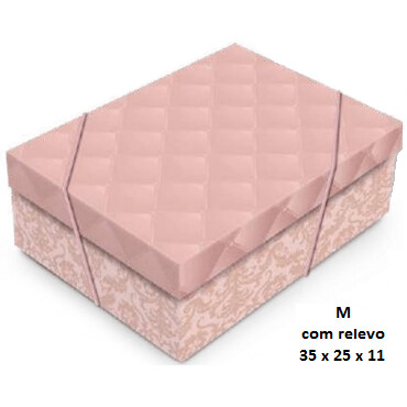 Caixa De Presente Luxuria Rose Gold M 13003968 Cromus
