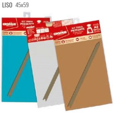 Kit Saco Presente 45X59cm Liso 350611 Cromus