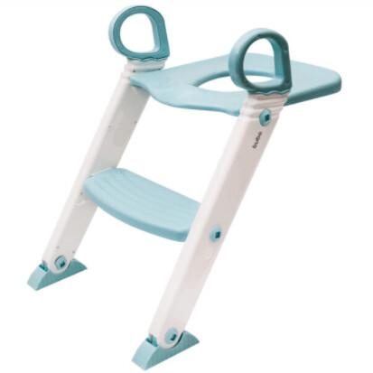 Assento Redutor Com Escada Azul Baby 11993 Buba