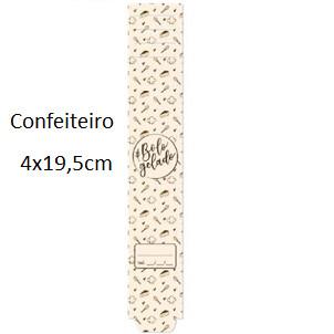 Cinta Para Bolo Confeiteiro 19,5X4cm 30 Unid 13004090 Cromus