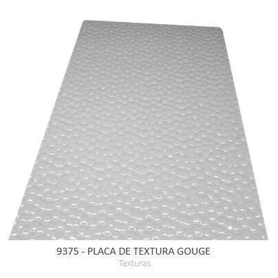 Forma Simples Placa De Textura Gouge 9375 - Bwb