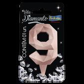Vela Diamante Rose Gold N.9 108788 Festcolor