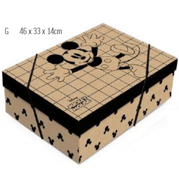 Caixa De Presente Mickey Kraft G 13003892 Cromus