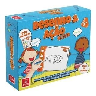 Jogo Desenho E Acao 7807 Brincadeira De Crianca