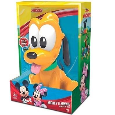 Boneco Vinil Pluto Baby 2893 Lider Brinquedos