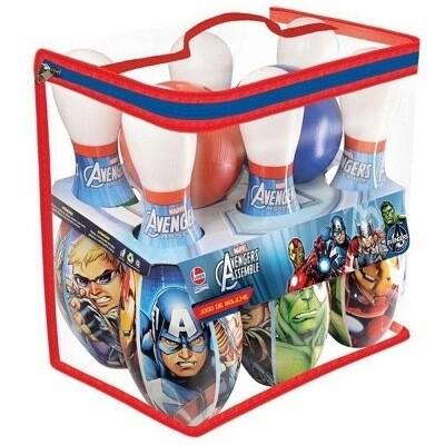 Jogo De Boliche Avengers 2151 Lider Brinquedos