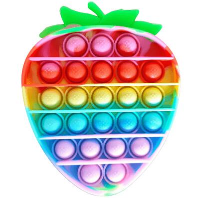 Popit Anti Stress Morango/Amongs - Rosa Toys