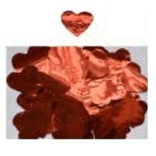 Confete Metal Coracao Vermelho 1Cm 86665 Neotrentina