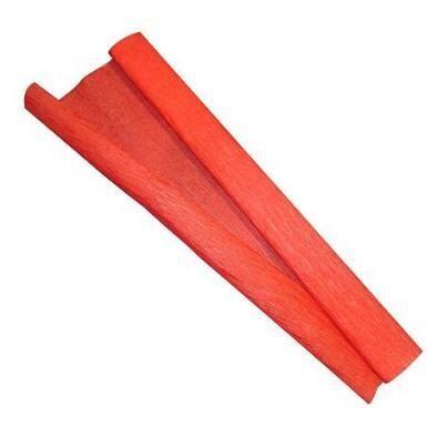 Papel Crepom Vermelho 48Cmx2m Vmp