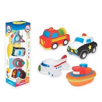 Colecao Fofinhos Transportes 5625 Lider Brinquedos