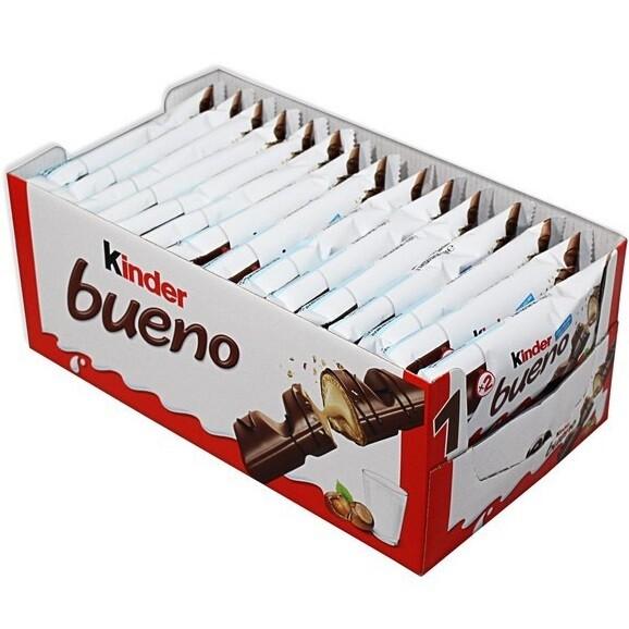 Chocolate Kinder Bueno C/30