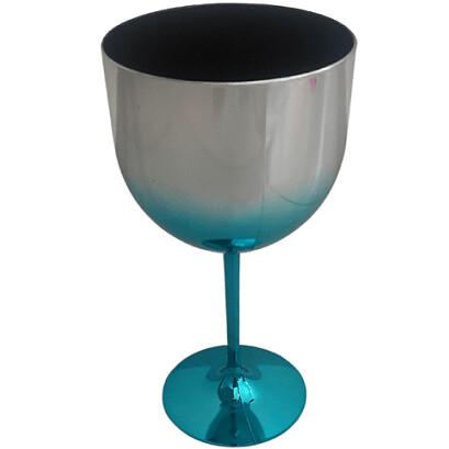 Taca Gin 600Ml Metalizada Degrade Azul 2013 Lsc Toys
