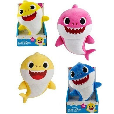 Pelucia Baby Shark 20Cm Sort 2356 Sunny