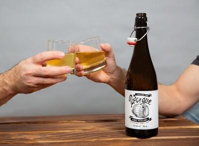 Cidre Parce que, vieilli en fût de scotch, 750 ml, 9.5% alc.