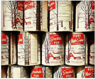 Gallon de Sirop Foncé (8 cannes)