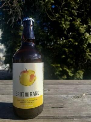 Cidre Brut de Rang, 500 ml, 8% alc.