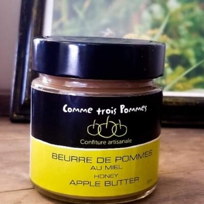 Beurre De Pomme Au Miel