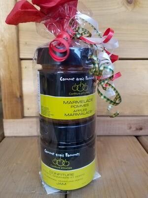 Ensemble Cadeau Marmelade et confiture bleuet gingembre porto