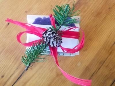 Ensemble cadeau Savon artisanal : lavande