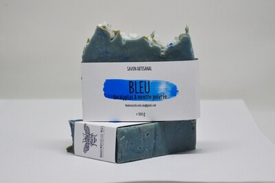 Savon Artisanal: Bleu