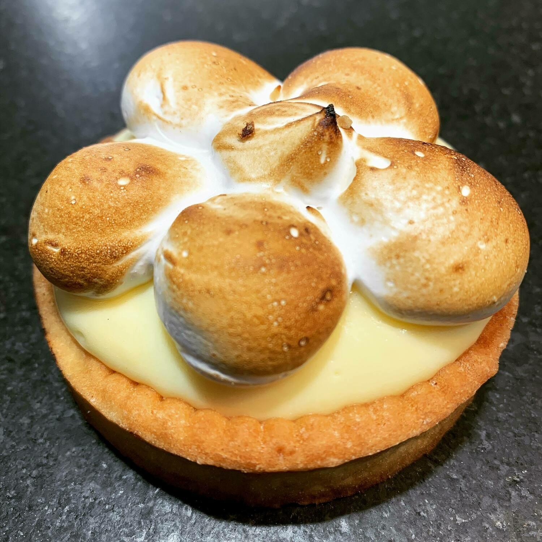Tartelette crème de citron meringuée