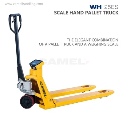SCALE HAND PALLET TRUCK  WH-25ES