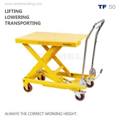 Single Scissors Lift Table Truck TF50