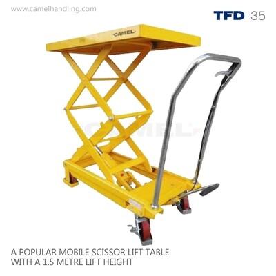 Double Scissors Lift Table Truck TFD35